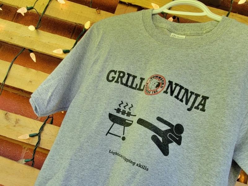 Townsend Butchers Grill Ninja T-Shirt