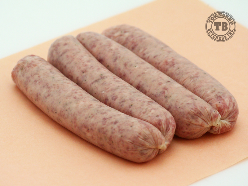 Garlic Pork Sausages
